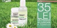 35 lei un produs de curatare a tenului si o crema de fata