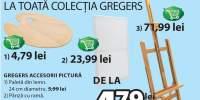 Reducere de 20% la colectia Gregers pentru pictat