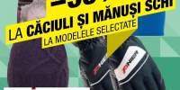 35% Reducere la caciuli si manusi schi