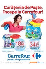 Curatenia de Paste incepe la Carrefour