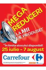 Catalog Carrefour 25 iulie - 7 august 2013