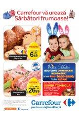 Carrefour va ureaza sarbatori fericite - Catalog Alimentar