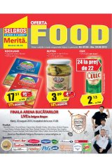Catalog Selgros Food 7 - 20 august 2013
