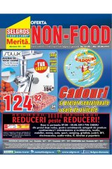 Catalog Selgros Non-Food 7 - 20 august 2013