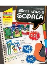 Catalog Selgros Totul pentru scoala, 7 - 20 august 2013