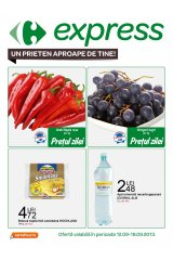 Catalog Carrefour Express 12-18 septembrie 2013