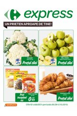Catalog Carrefour Express 26 septembrie - 02 octombrie 2013