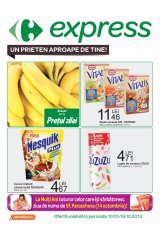 Catalog Carrefour Express 10-16 octombrie 2013