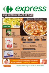 Catalog Carrefour Express 24-30 octombrie 2013