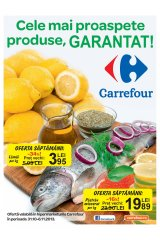 Catalog special Carrefour 'produse proaspete' 31 octombrie - 6 noiembrie 2013