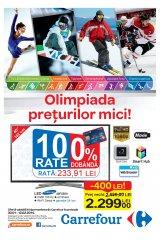 Catalog special Carrefour 'Olimpiada preturilor mici' 30 ianuarie-12 februarie 2014