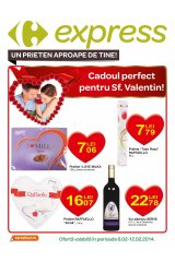 Catalog Carrefour Express 6 - 12 februarie 2014