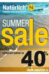 Catalog Naturlich mobilier iulie-august 'Summer Sale'