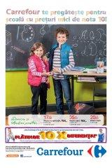 Catalog Carrefour hypermarket 21 august-24 septembrie 2014 'Pregateste-te pentru scoala'
