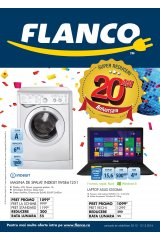 Catalog Flanco electronice si electrocasnice 3-13 decembrie 2014 'Aniversam 20 de ani'