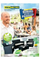 Catalog Metro Cash & Carry 19 martie - 15 aprilie 2015 'Romania, bucura-te de primavara!'