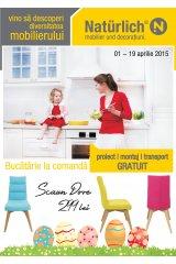 Catalog Naturlich mobilier und decoratiuni 1-19 aprilie 2015 'Vino sa descoperi diversitatea mobilierului'