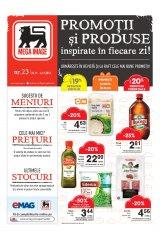 """Revista Mega Image supermarketuri 24 noiembrie - 6 decembrie 2016 'Promotii si produse inspirate in fiecare zi"""""""
