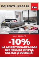 Catalog Kika casa si gradina 1-30 septembrie 2017 'Idei pentru casa ta!'