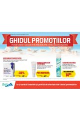 Catalog Sensiblu farmacie 1-31 august 2018 'Ghidul promotiilor'