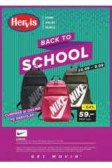 "Catalog Hervis sport 23 august - 9 septembrie 2018 ""Back to School"""