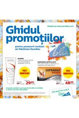 Catalog Sensiblu farmacie 1-31 octombrie 2018 'Ghidul promotiilor'