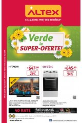 Catalog Altex electronice si electrocasnice 7-20 martie 2019 'Verde la super-oferte'