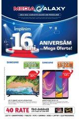 "Catalog Media Galaxy 19-25 martie 2019 ""Implinim 16 ani: aniversam cu mega oferte"""