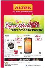 Catalog Altex electronice si electrocasnice 21 martie - 3 aprilie 2019 'Super-oferte pentru o primavara frumoasa'