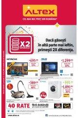 Catalog Altex electronice si electrocasnice 2-15 mai 2019 'Daca gasesti mai ieftin, primesti de doua ori diferenta'