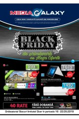 "Catalog Media Galaxy 16-22 mai 2019 ""Black Friday de primavara cu mega oferte"""