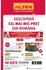 "Catalog Altex 23 mai - 5 iunie 2019 ""Descopera cel mai mic pret din Romania"""