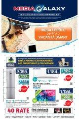 """Catalog Media Galaxy 28 mai - 10 iunie 2019 """"Mega oferte pentru o vacanta smart"""""""
