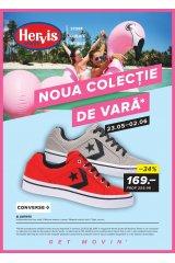 """Catalog Hervis Sports 23 mai - 2 iunie 2019 """"Noua colectie de vara"""""""
