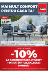 """Catalog kika 1-30 iunie 2020 home&deco """"Mai mult confort pentru casa ta"""""""