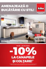 Catalog kika 1-31 august 2020 home&deco