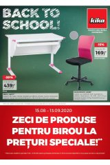 Catalog kika 15.08-13.09. 2020 home&deco Back to School!