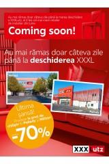 Catalog XXXLutz home&deco: au mai rămas doar câteva zile până la deschiderea XXXL!