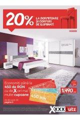Catalog XXXLutz home&deco - 20% reducere la dormitoare și corpuri de iluminat