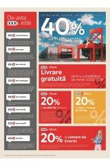 Catalog XXXLutz home&deco  - 40% la fiecare al doilea produs de accesorii și decorațiuni