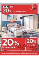 Catalog XXXLutz home&deco - 20% reducere la dormitoare, 20% reducere la covoare, 20% reducere la canapele